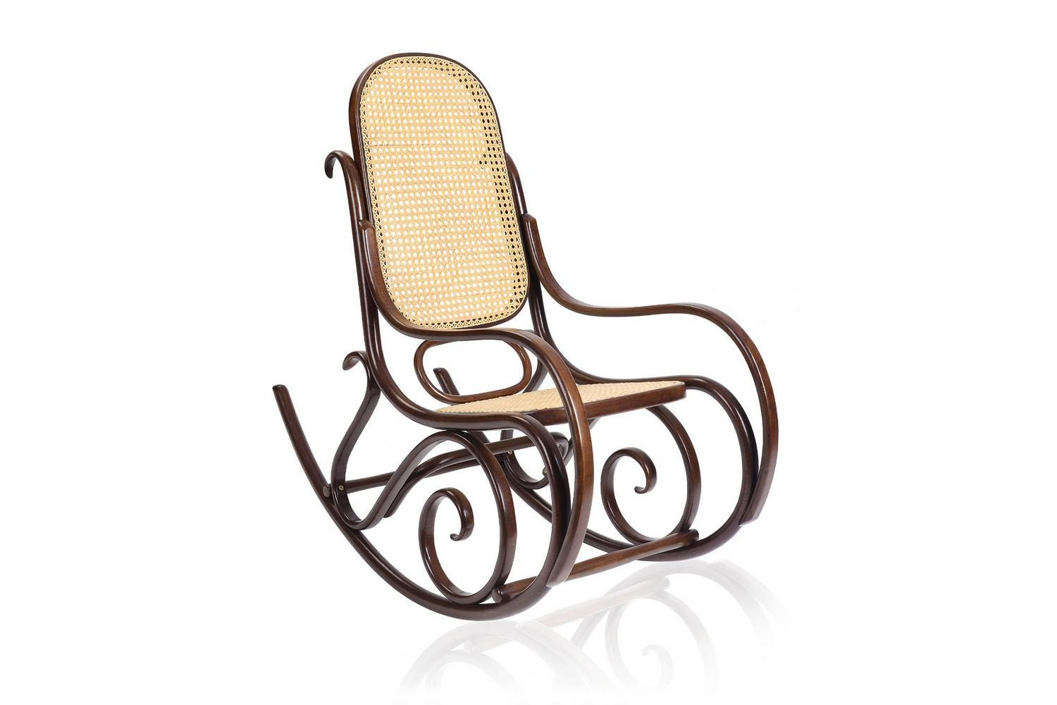 Schaukelstuhl Rocking Chair by Gebruder Thonet Vienna for Wiener GTV Design