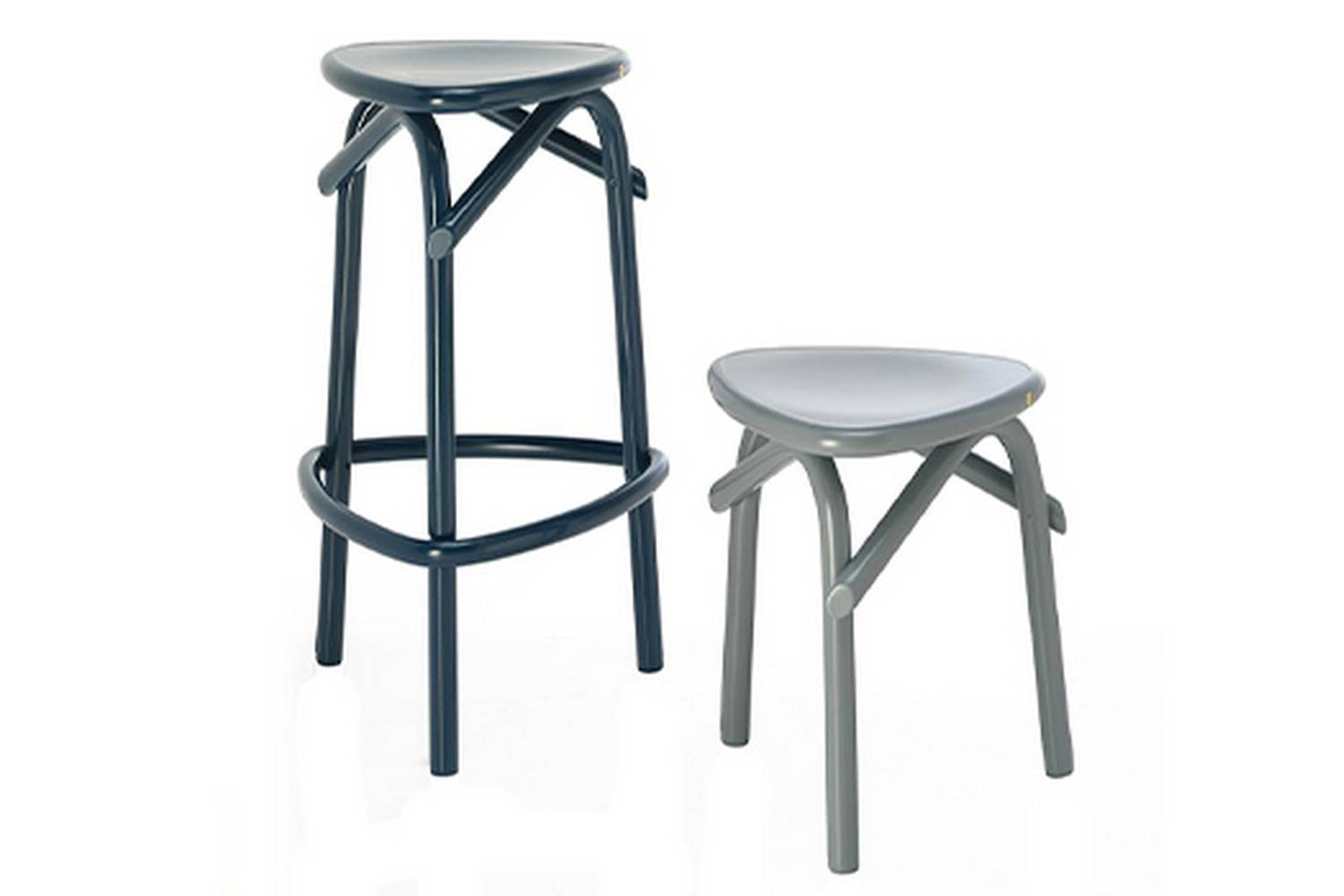 Trio Stool by Martino Gamper for Wiener GTV Design