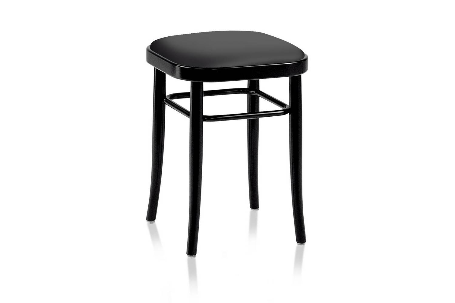 Vienna 144 Hocker Stool by Gebruder Thonet Vienna for Wiener GTV Design
