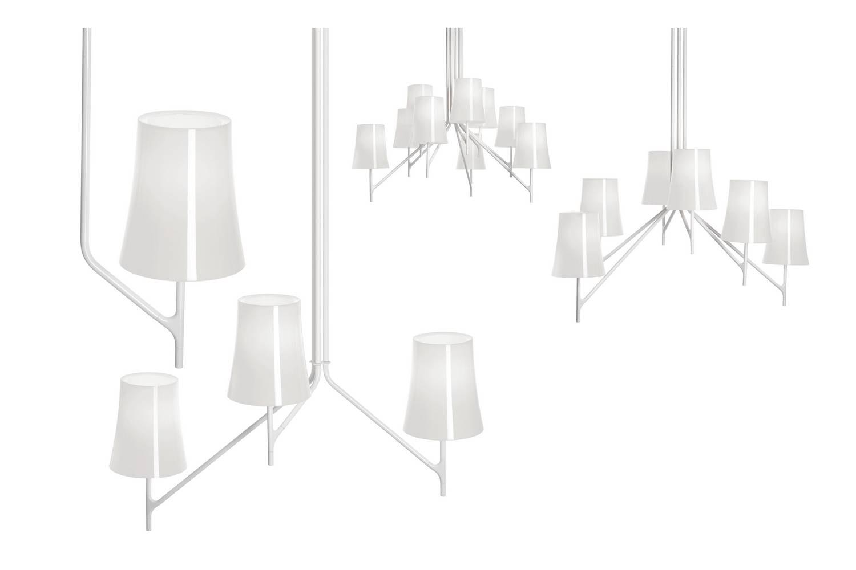 Birdie Ceiling Lamp by Ludovica & Roberto Palomba for Foscarini