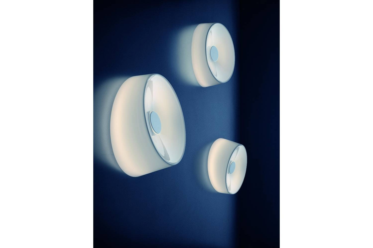 Lumiere XXL + XXS Ceiling/Wall Lamp by Rodolfo Dordoni for Foscarini