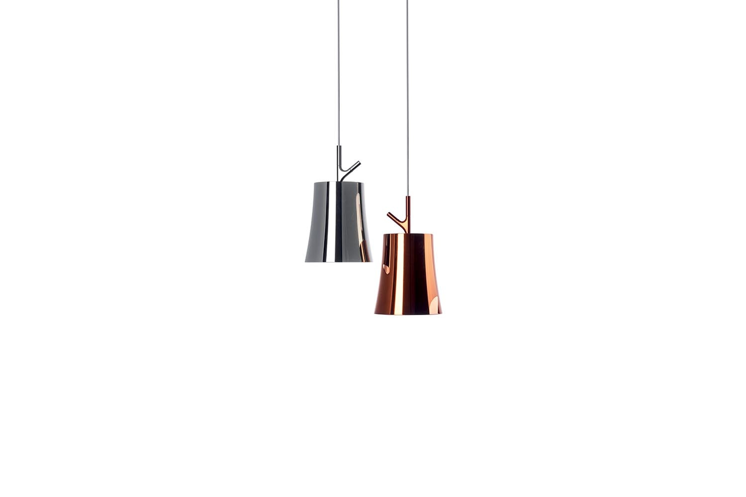 Birdie Metal Suspension Lamp by Ludovica & Roberto Palomba for Foscarini
