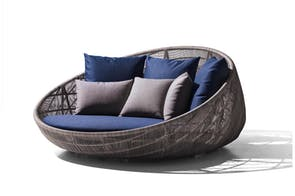 Canasta '13 Round Sofa by Patricia Urquiola for B&B Italia