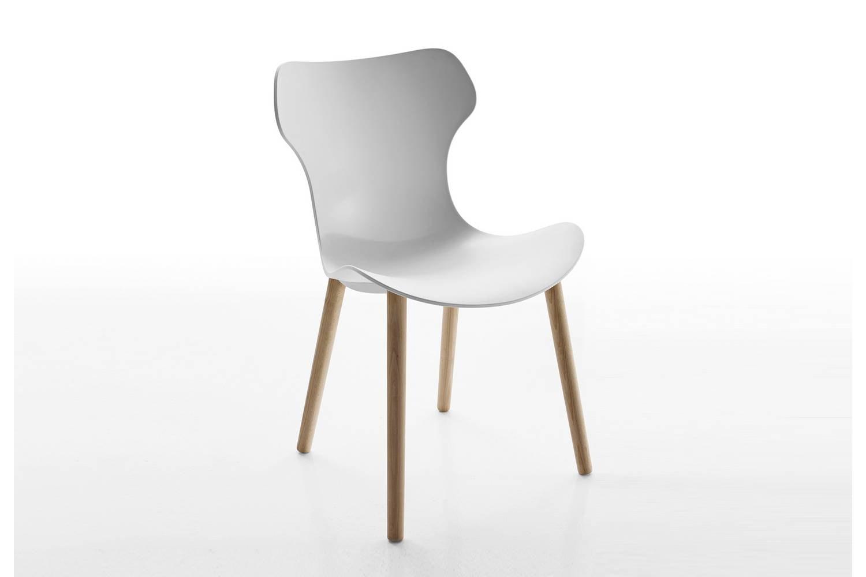 Beautiful Papilio Shell Chair By Naoto Fukasawa For Bu0026B Italia