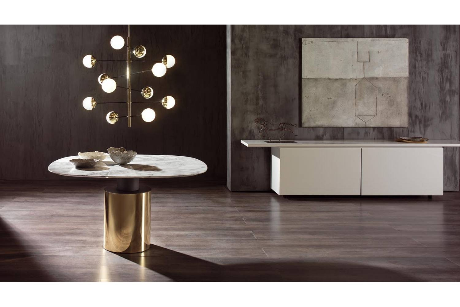 Creso Table by Lella & Massimo Vignelli for Acerbis