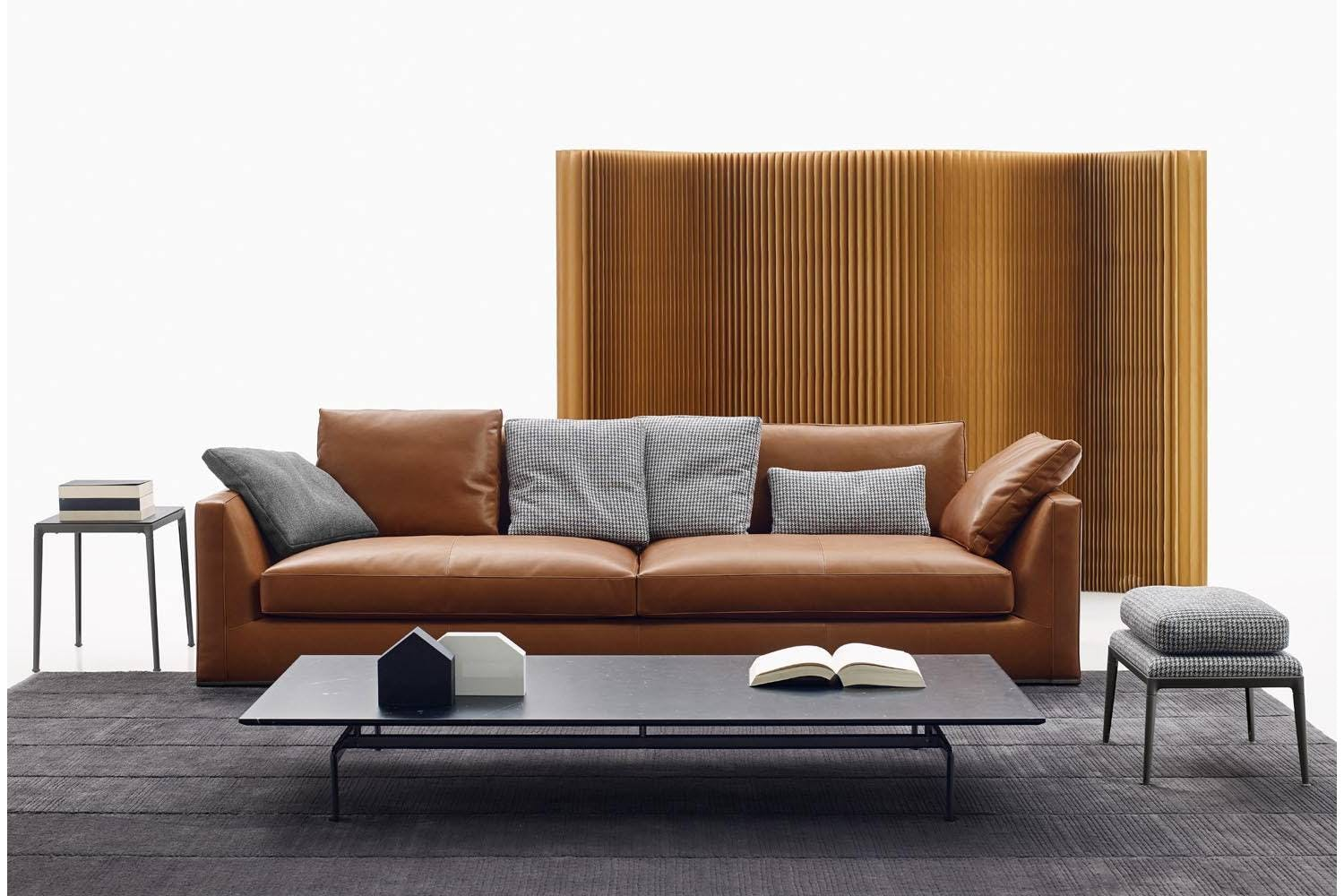 richard sofa by antonio citterio for b b italia space. Black Bedroom Furniture Sets. Home Design Ideas