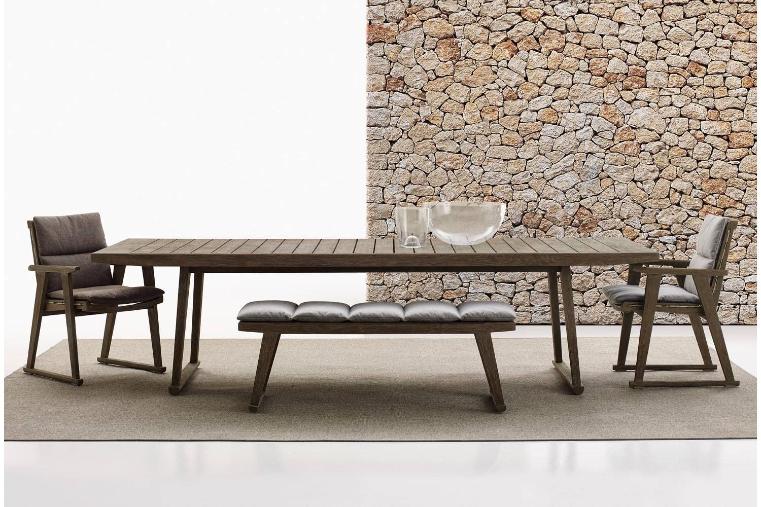Gio Bench by Antonio Citterio for B&B Italia