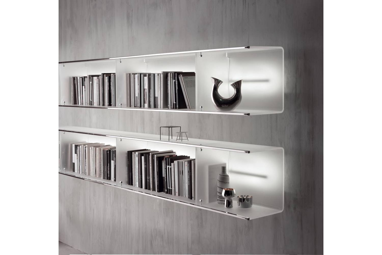 Beam Wall Mounted Storage Unit by Lodovico Acerbis for Acerbis