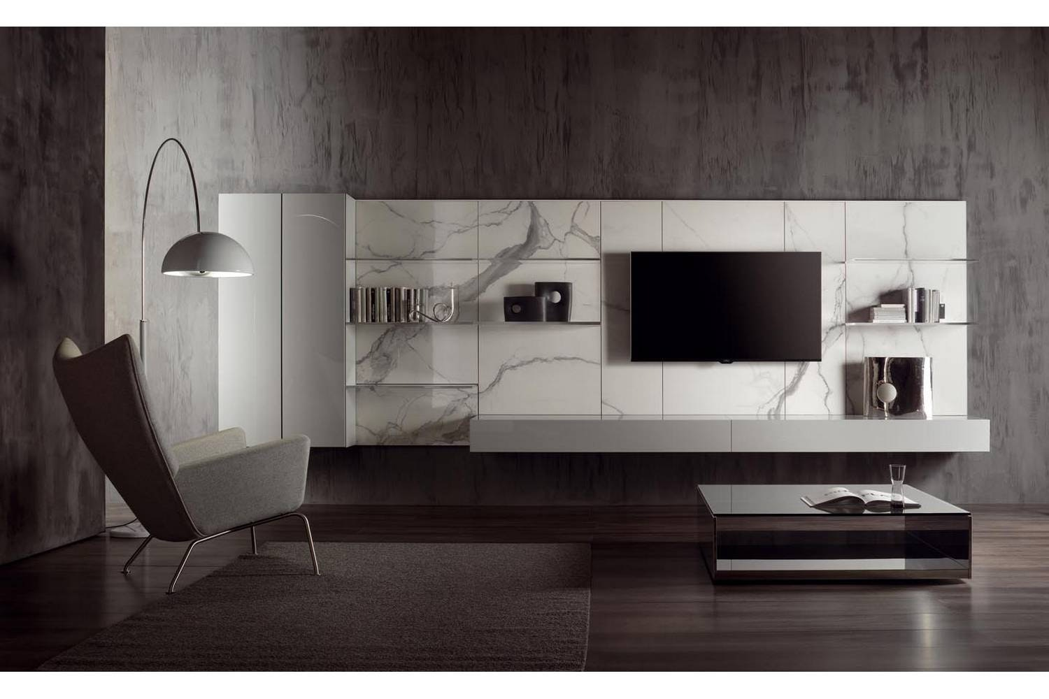 N.C. Landscape Wall Mounted Storage Unit by Massimo Castagna for Acerbis