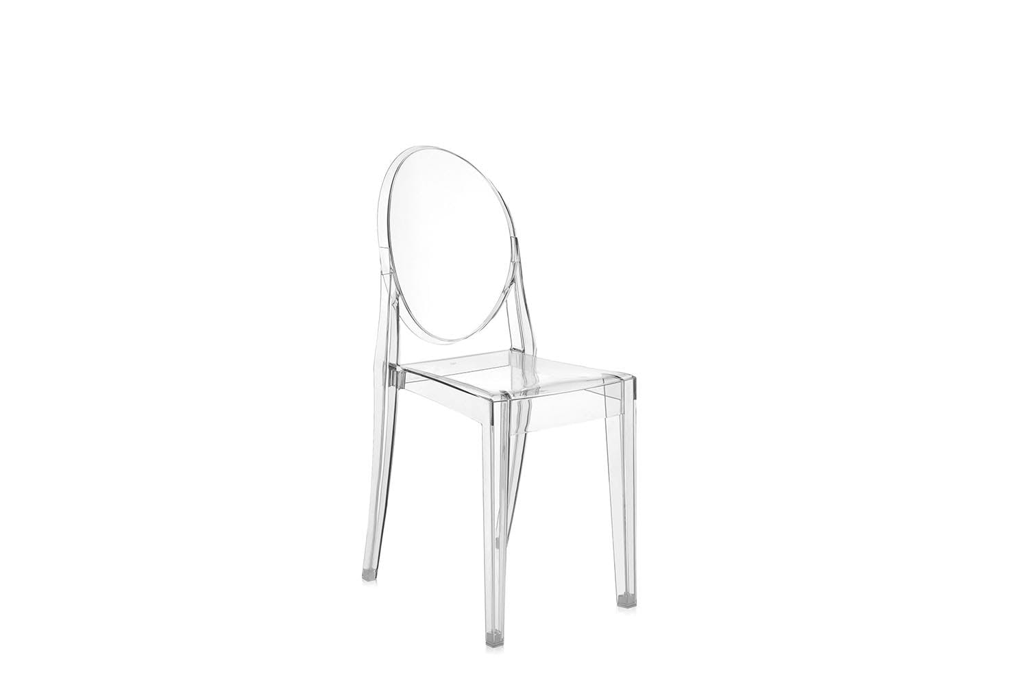 victoria ghost chair by philippe starck for kartell  space furniture -