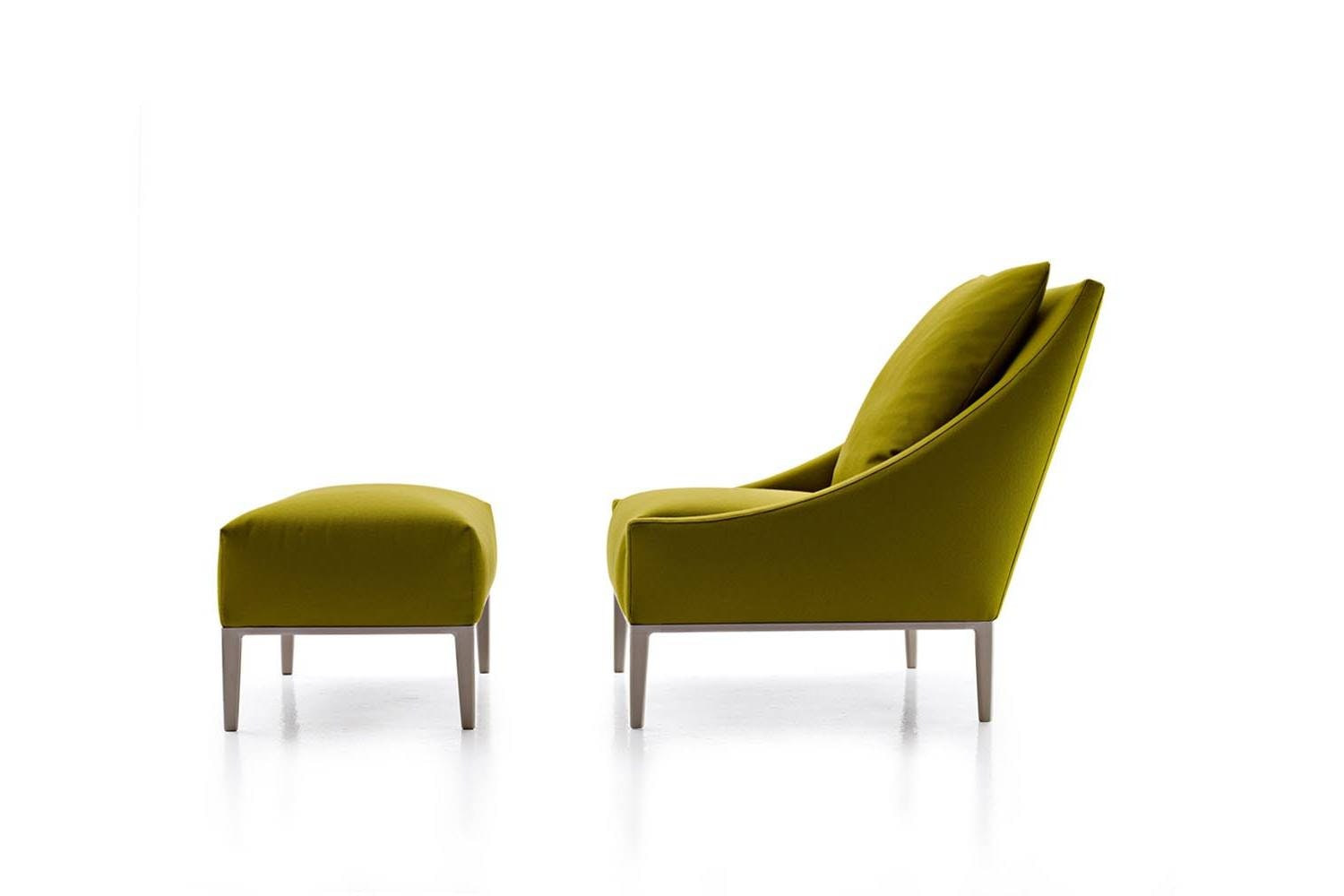 Project Jean Armchair & Ottoman by Antonio Citterio for B&B Italia Project