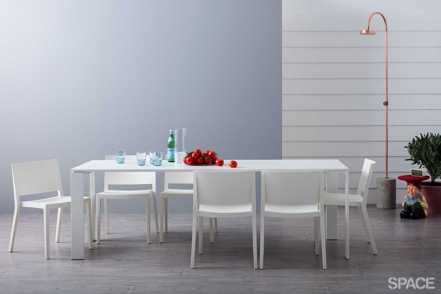 Complete Outdoor Dining Package by Kartell