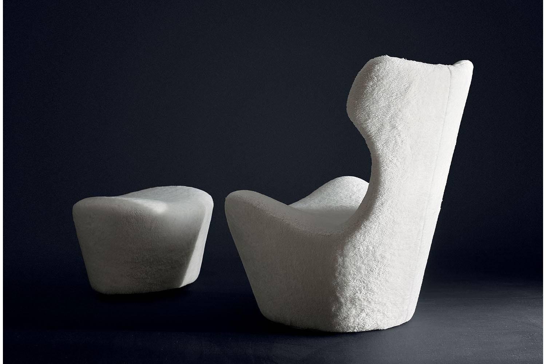 Grande Papilio 50' Armchair by Naoto Fukasawa for B&B Italia