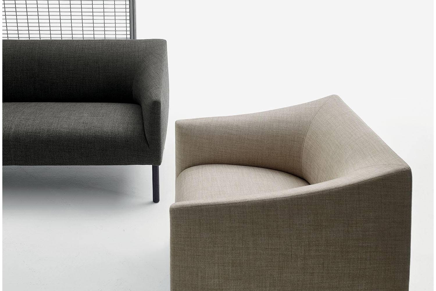 Bankside Armchair by Jasper Morrison for B&B Italia Project
