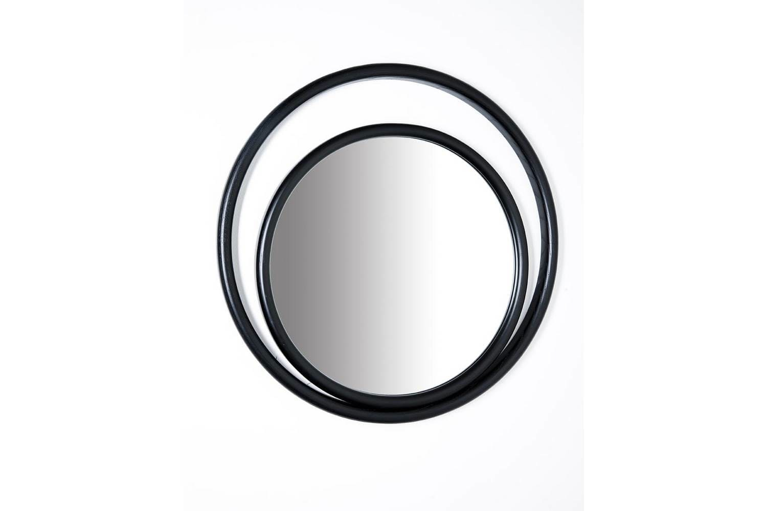 Eyeshine Small Circular Mirror by Anki Gneib for Gebruder Thonet Vienna GmbH
