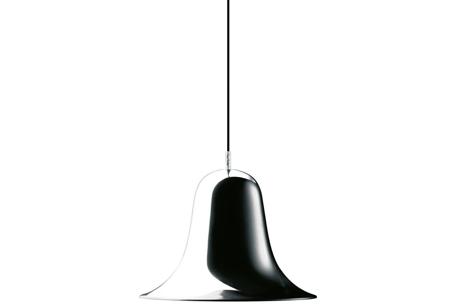 Pantop Pendant Lamp in Chrome by Verner Panton for Verpan