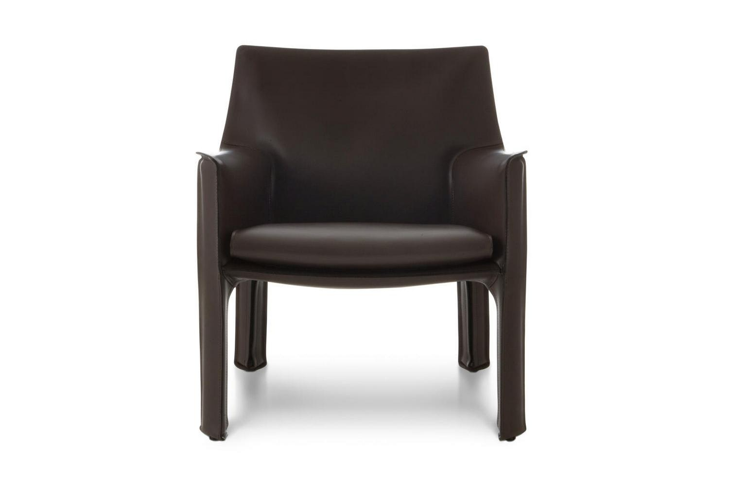 414 Cab Armchair by Mario Bellini for Cassina