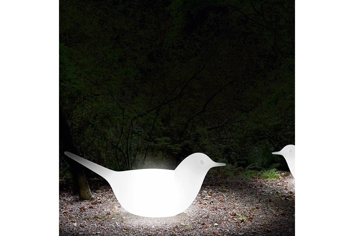 Paloma Bird with Light by Eero Aarnio for Serralunga