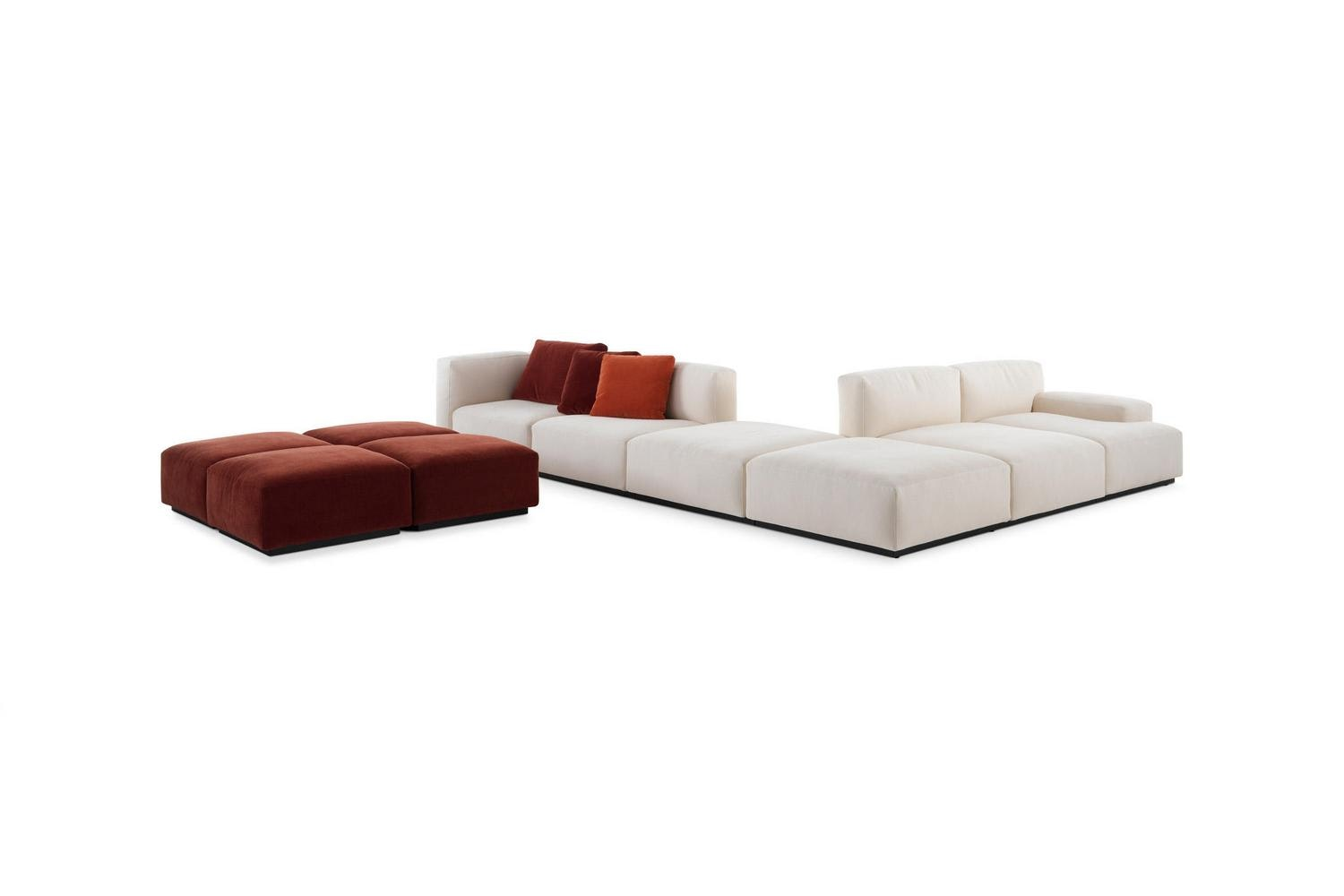 271 Mex Cube Sofa by Piero Lissoni for Cassina