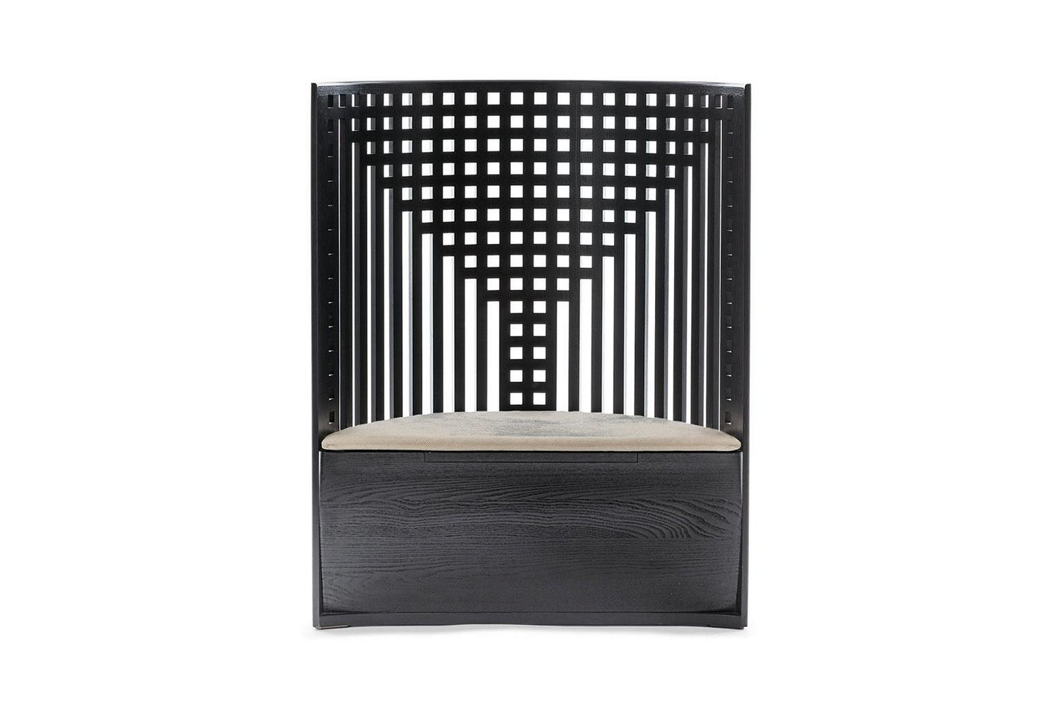 312 Willow 1 Chair by Charles Rennie Mackintosh for Cassina