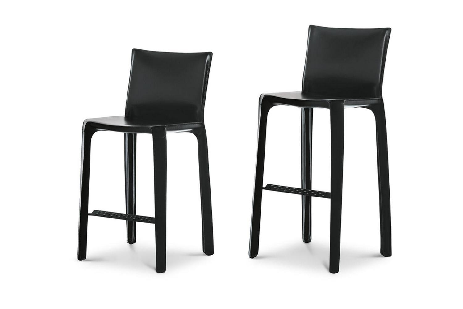 410 Cab Stool by Mario Bellini for Cassina