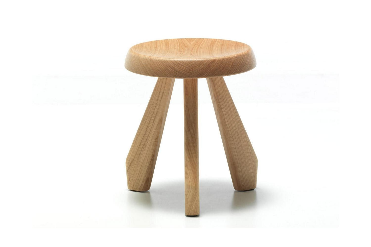 523 Tabouret Meribel Stool by Charlotte Perriand for Cassina