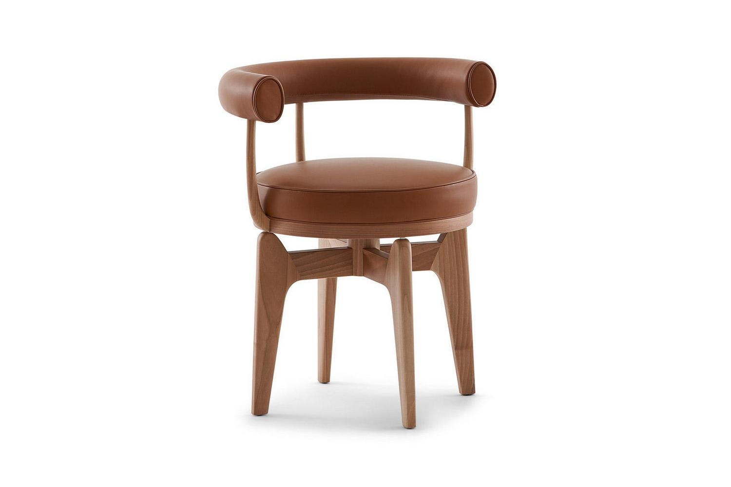 528 Indochine Chair by Charlotte Perriand for Cassina