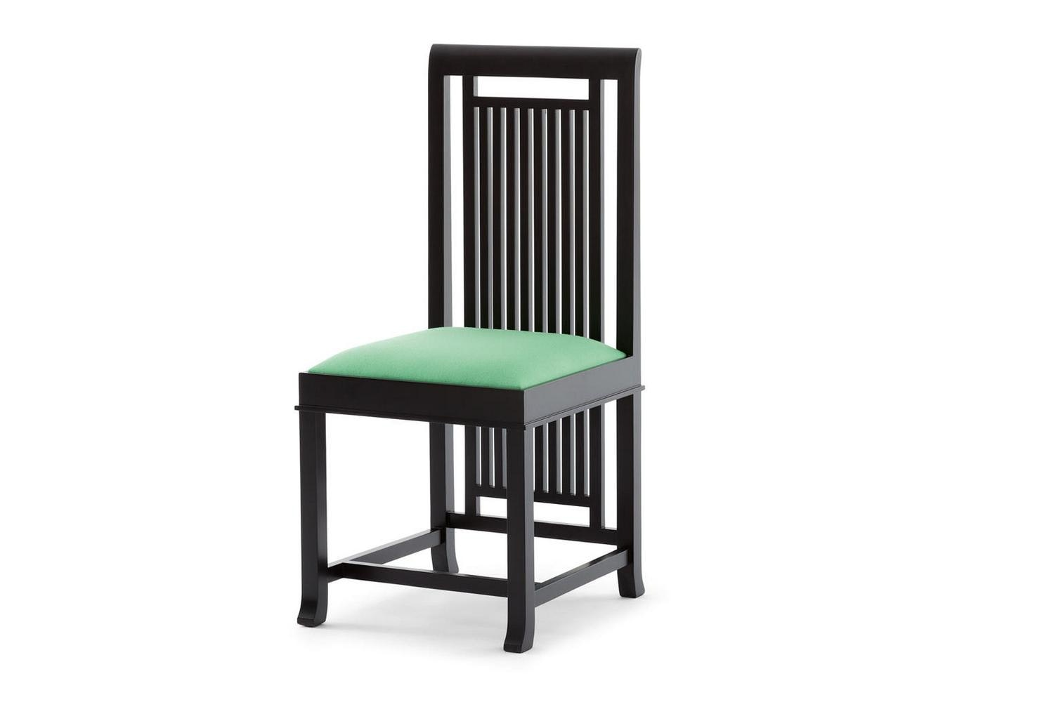 614 Coonley 2 Chair by Frank Lloyd Wright for Cassina
