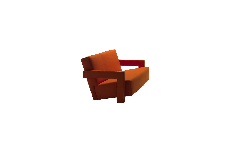 637 Utrecht Sofa By Gerrit Thomas Rietveld For Cassina