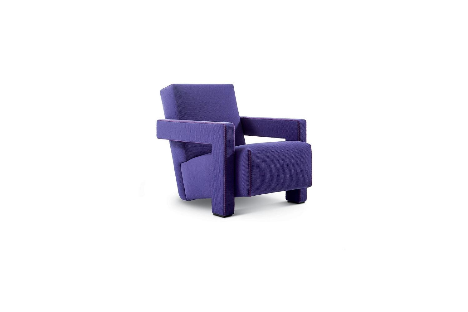 637 Utrecht Armchair by Gerrit Thomas Rietveld for Cassina