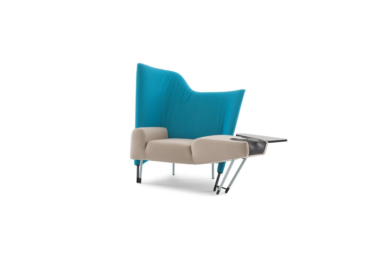 654 Torso Armchair by Paolo Deganello for Cassina