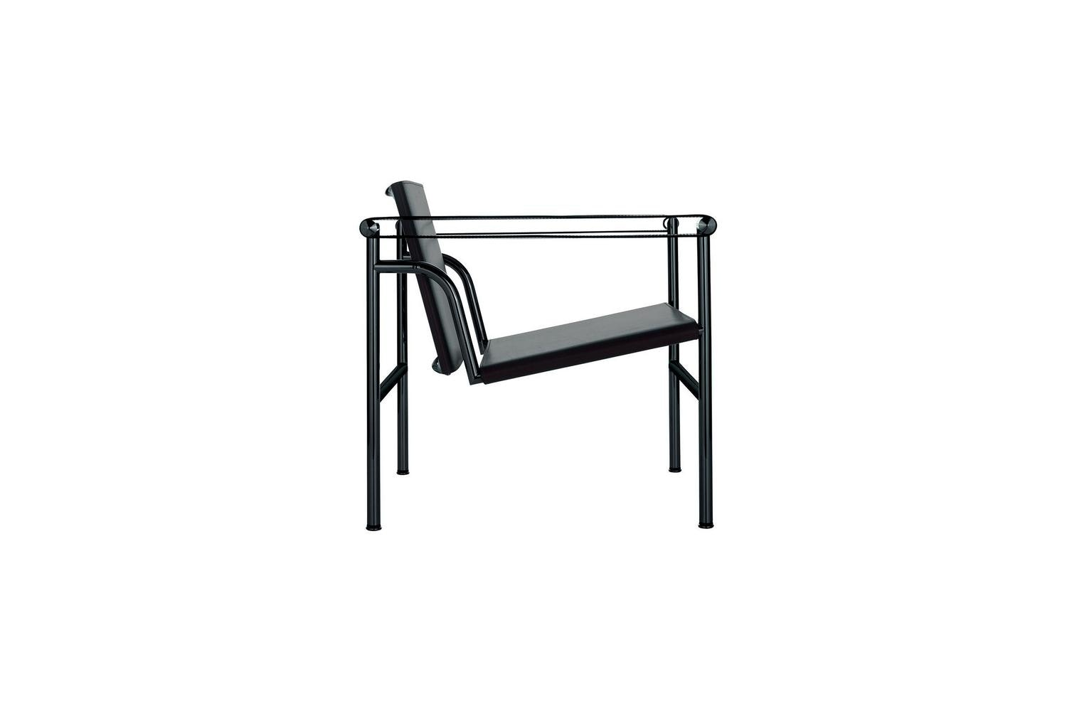 LC1 Armchair by Le Corbusier, Pierre Jeanneret, Charlotte Perriand for Cassina