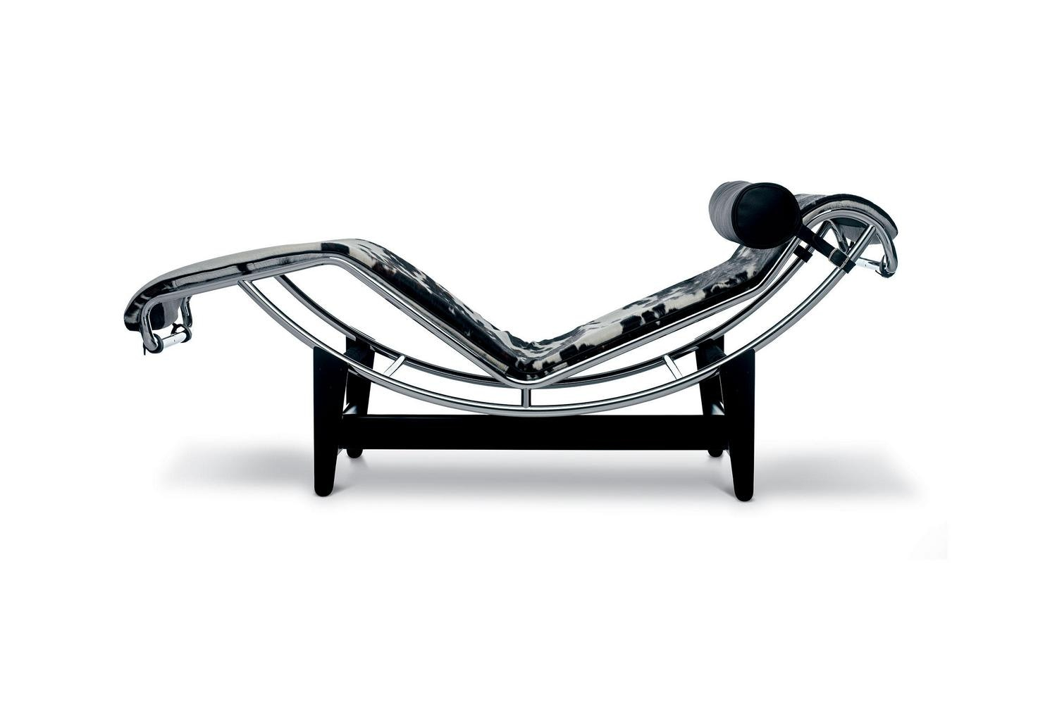 LC4 Chaise Longue by Le Corbusier, Pierre Jeanneret, Charlotte Perriand for Cassina