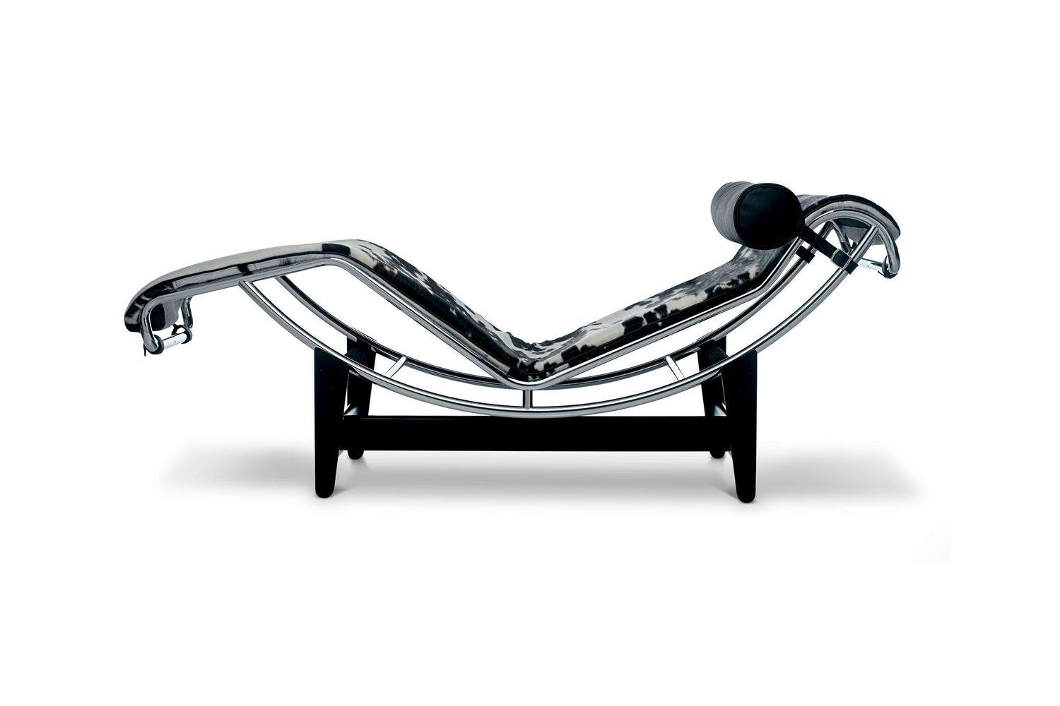 corbusier chaise black le style longue product