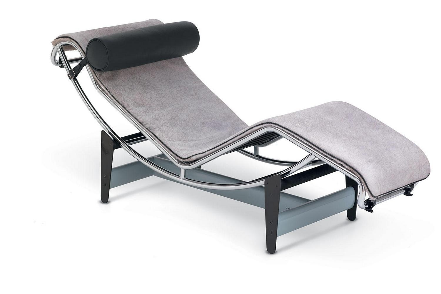 LC4 Villa Church Chaise Longue by Le Corbusier, Pierre Jeanneret, Charlotte Perriand for Cassina