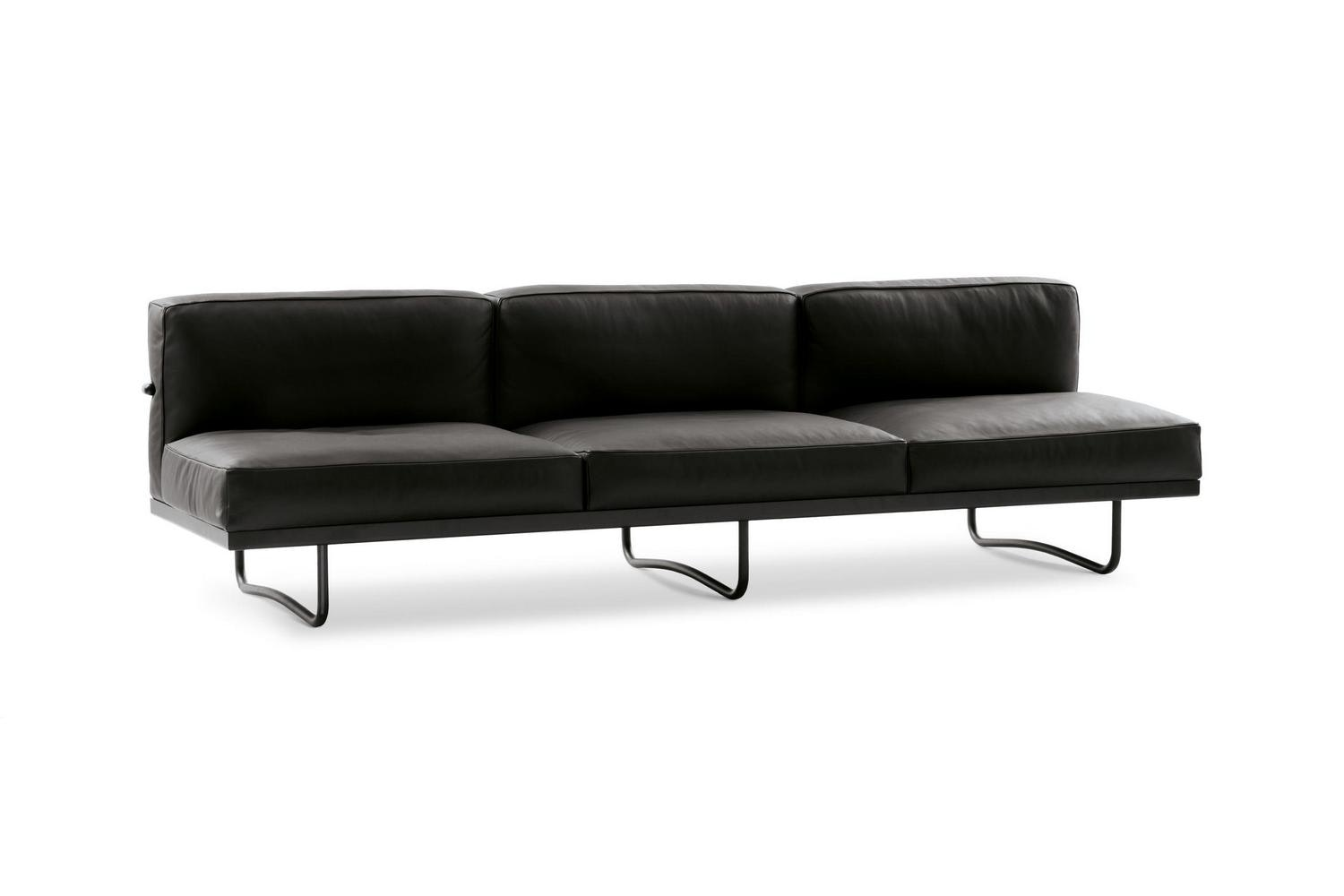 LC5 Sofa by Le Corbusier, Pierre Jeanneret, Charlotte Perriand for Cassina