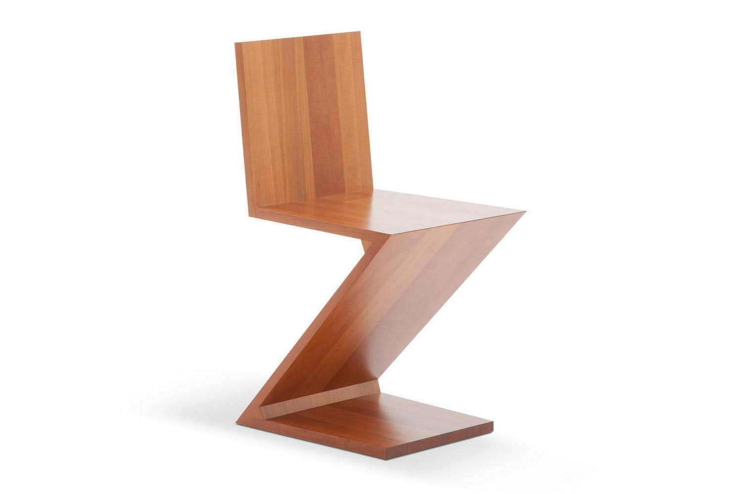 280 Zig Zag Chair by Gerrit Thomas Rietveld for Cassina