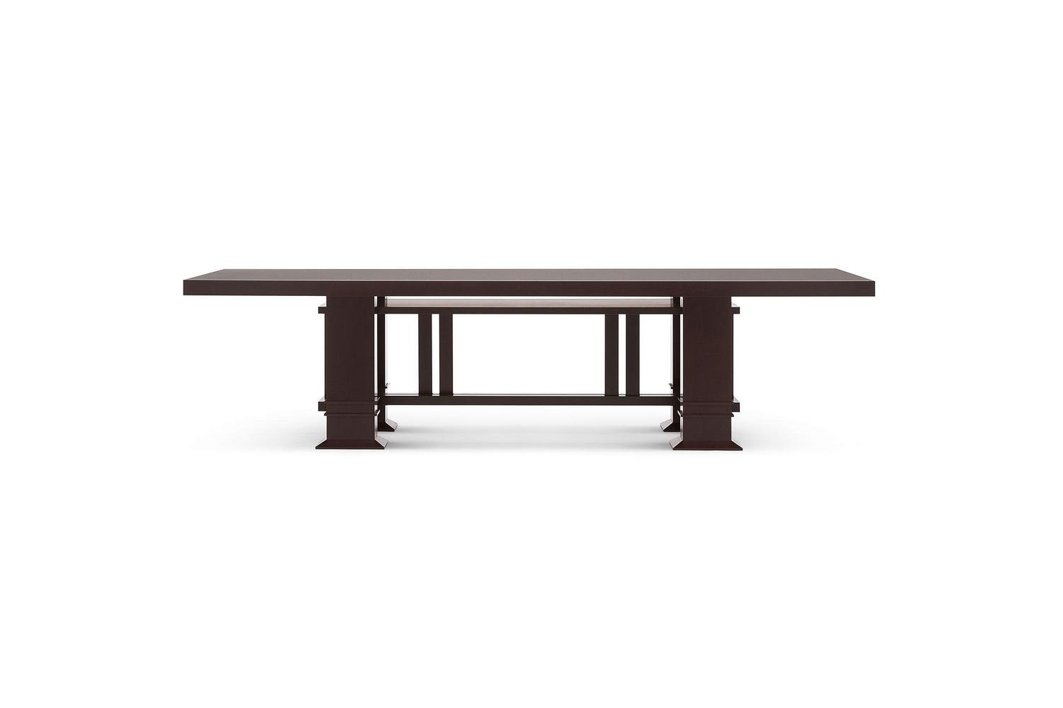 605 Allen Table by Frank Lloyd Wright for Cassina