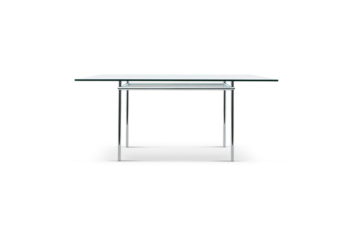 LC12 La Roche Table by Le Corbusier and Pierre Jeanneret for Cassina
