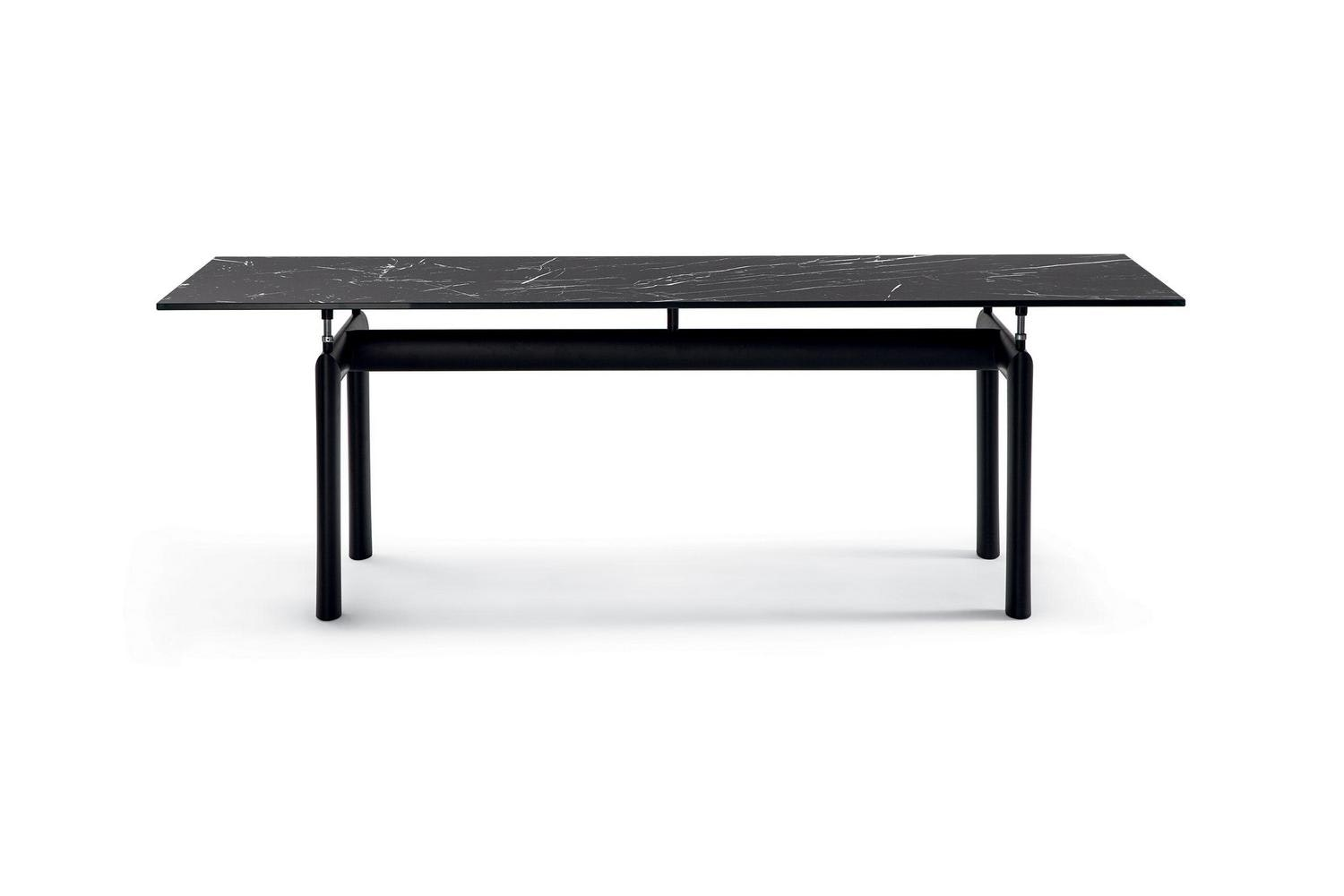 LC6 Table by Le Corbusier, Pierre Jeanneret and Charlotte Perriand for Cassina