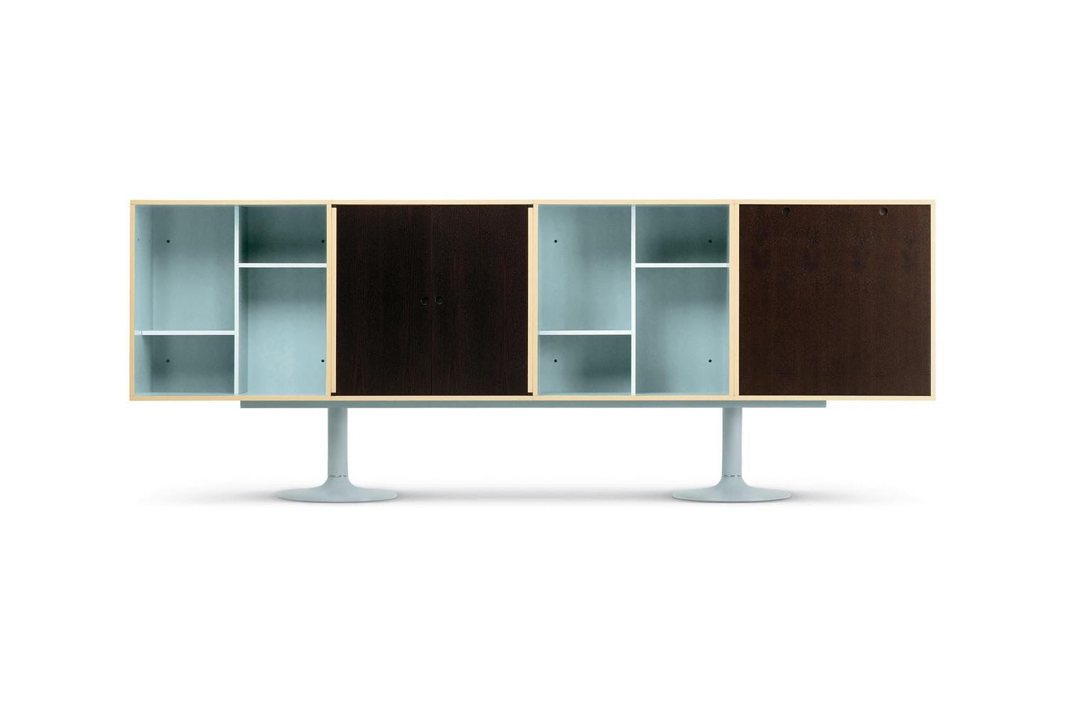 LC Casiers Standard Storage Units by Le Corbusier, Pierre Jeanneret and Charlotte Perriand for Cassina
