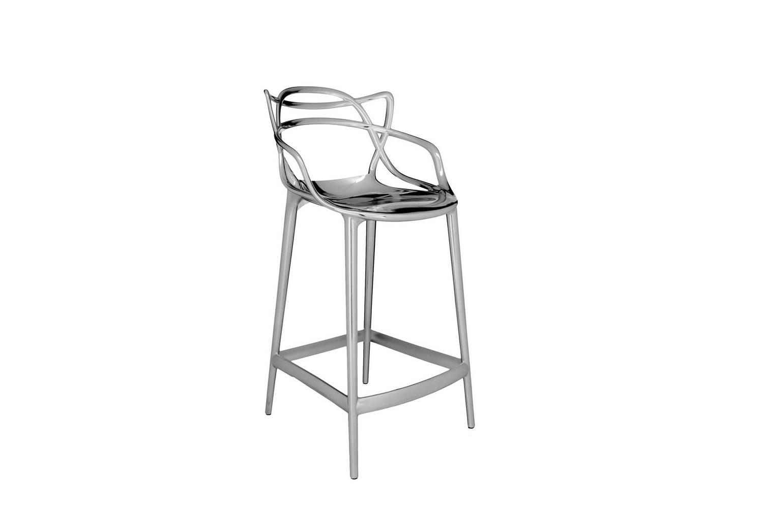 Masters Metallic Low Stool by Philippe Starck with Eugeni Quitllet for Kartell | Space Furniture  sc 1 st  Space Furniture & Masters Metallic Low Stool by Philippe Starck with Eugeni Quitllet ... islam-shia.org