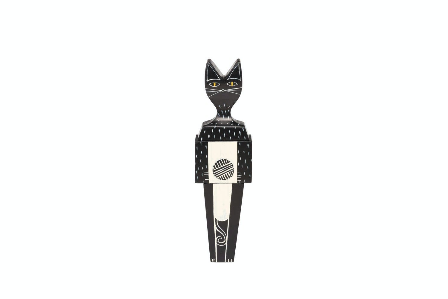 Wooden Doll Cat by Alexander Girard for Vitra