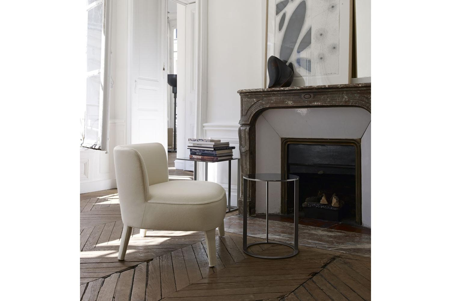Febo Armchair With Low Back By Antonio Citterio For Maxalto