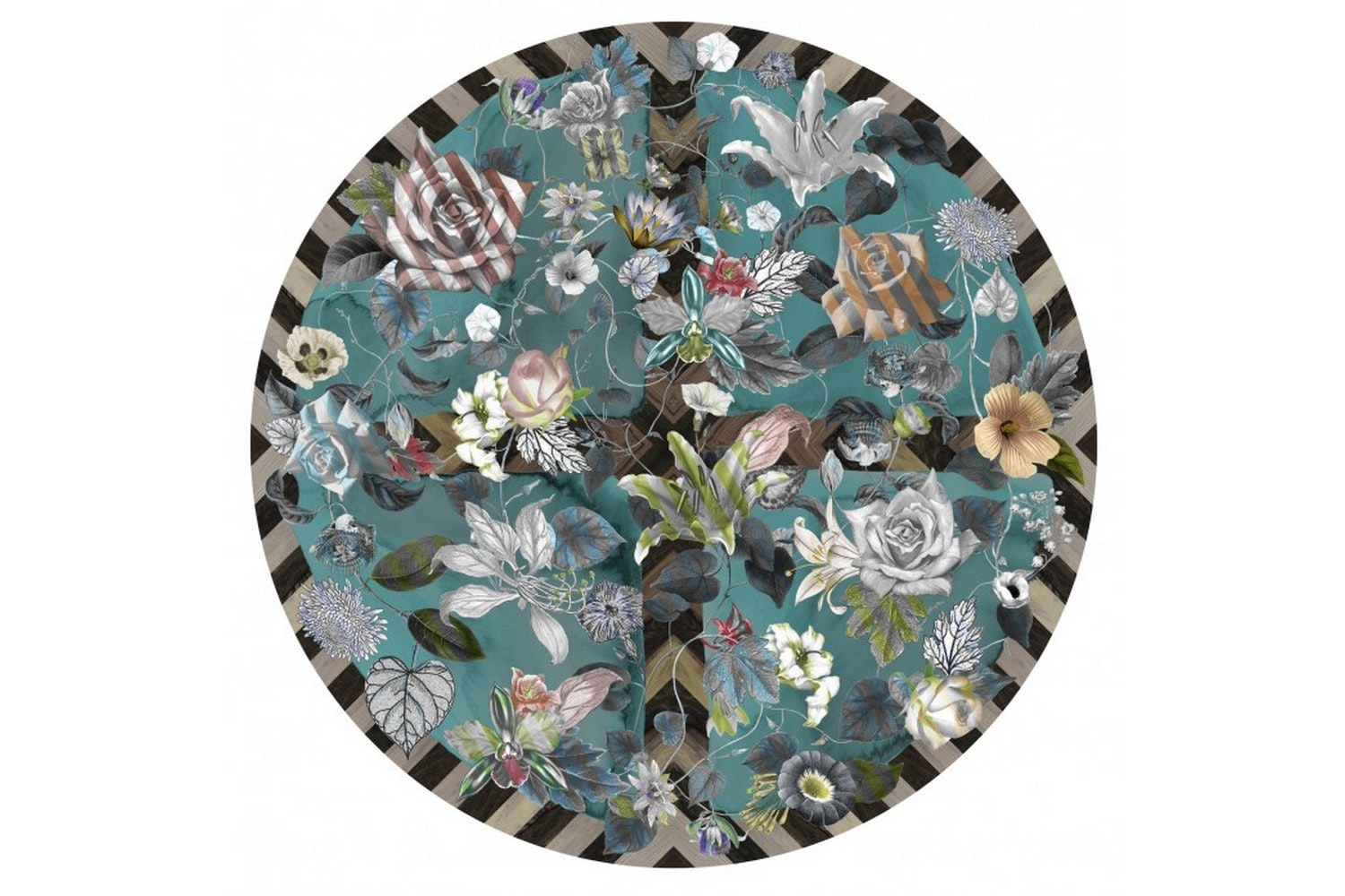 Malmaison Aquamarine Rug by Maison Christian Lacroix for Moooi Carpets