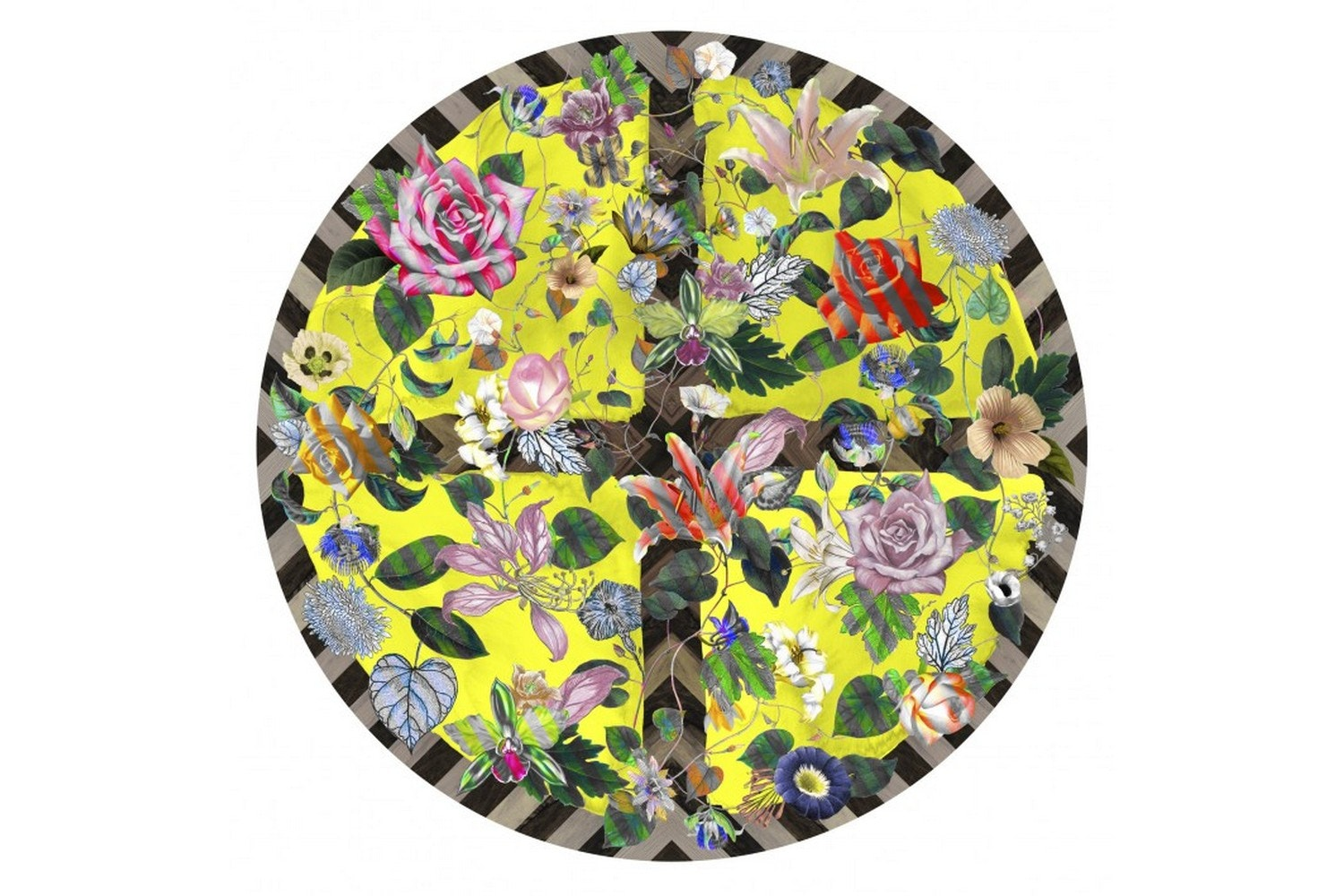 Malmaison Citrus Rug by Maison Christian Lacroix for Moooi Carpets