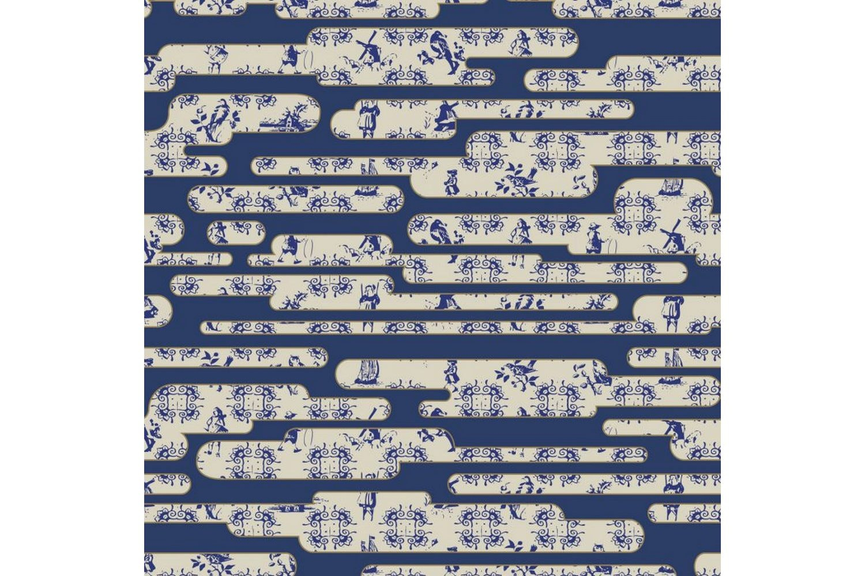 Dutch Sky Blue Broadloom Carpet by Edward van Vliet for Moooi Carpets