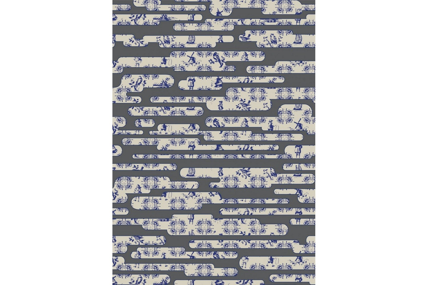 Dutch Sky Grey Rug by Edward van Vliet for Moooi Carpets