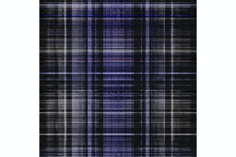 Tartan Haze Dark Grey Broadloom Carpet by Marcel Wanders for Moooi Carpets
