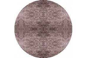 Clay Sediment Round Rug by Ross Lovegrove for Moooi Carpets